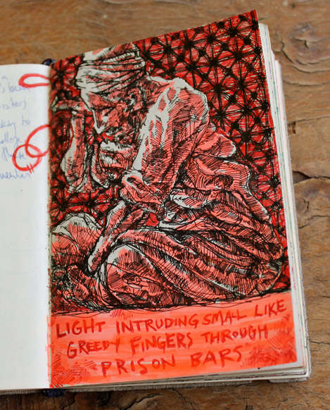 "Cairo Sketchbook -- ""Philosopher"""
