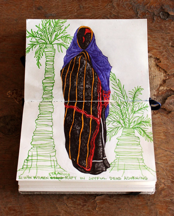 "Cairo Sketchbook -- ""Siwan Women"""