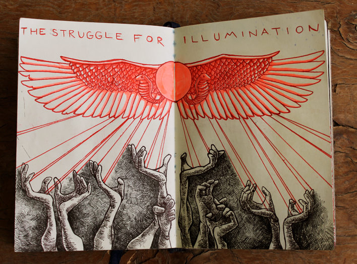 "Cairo Sketchbook -- ""The Struggle for Illumination"""