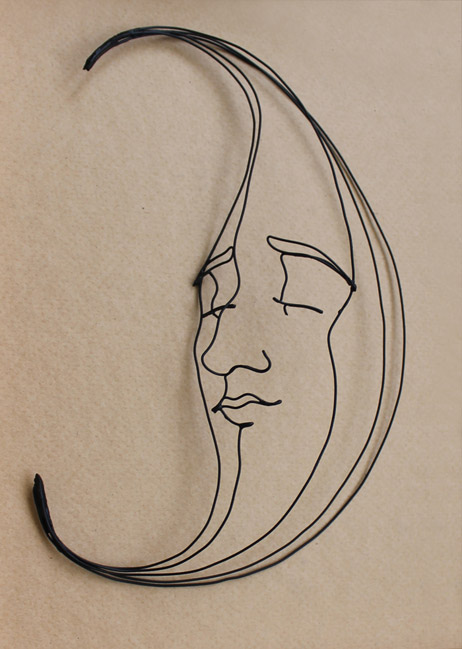 Tiffany & Co. window display sculpture - Moon